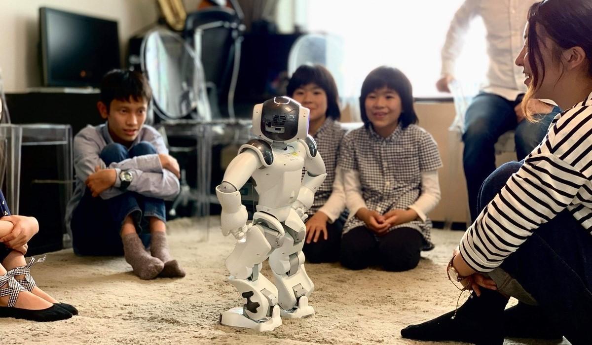 LYD主催のワークショップの様子<br /> ©Softbank Robotics